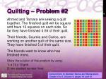 quilting problem 2