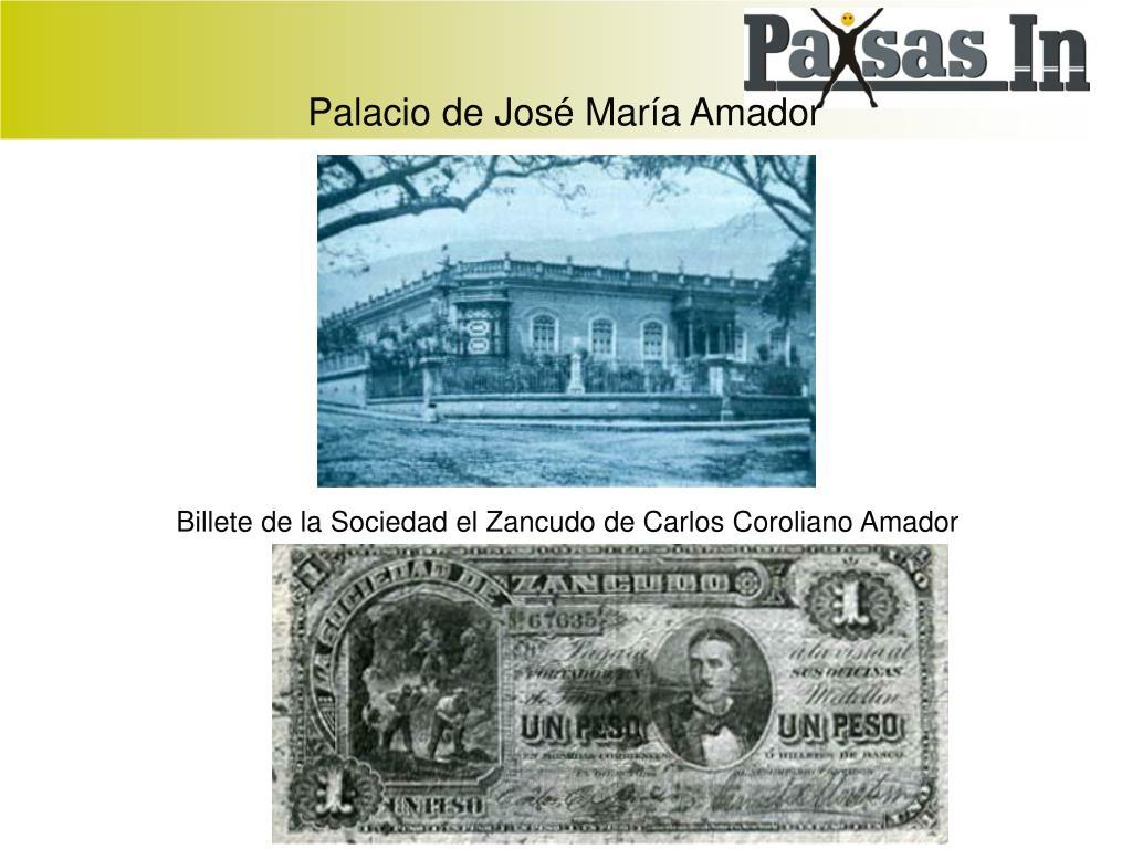 Palacio de José María Amador