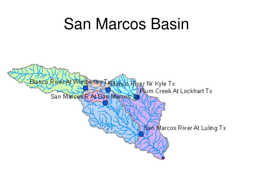 San Marcos Basin