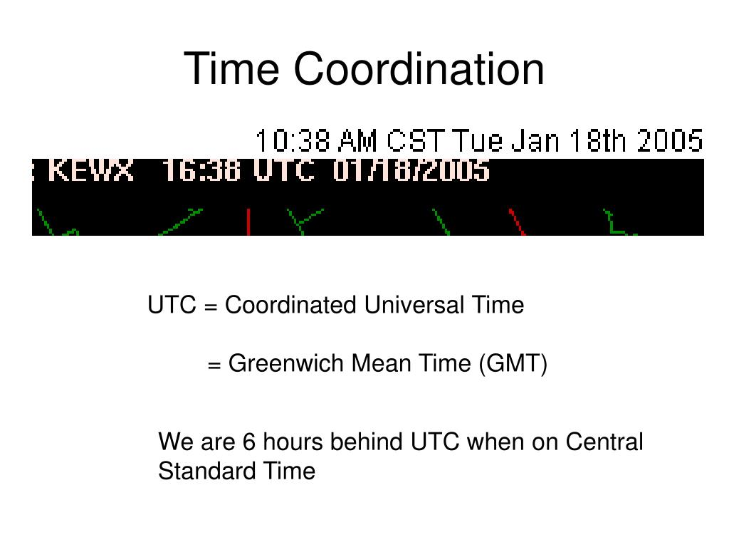 Time Coordination