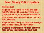 food safety policy system23