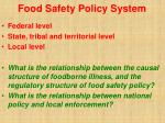 food safety policy system28