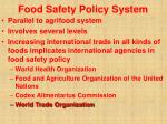 food safety policy system38
