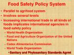 food safety policy system40