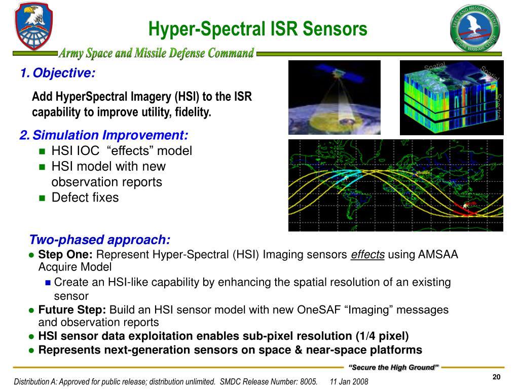 Hyper-Spectral ISR Sensors