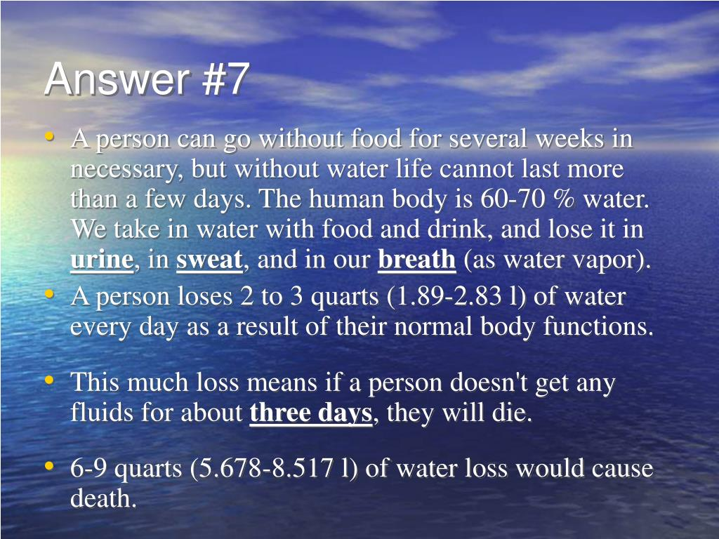 Answer #7