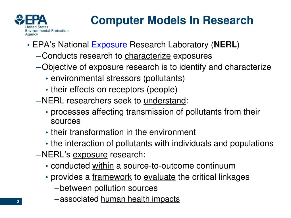 Computer Models In Research