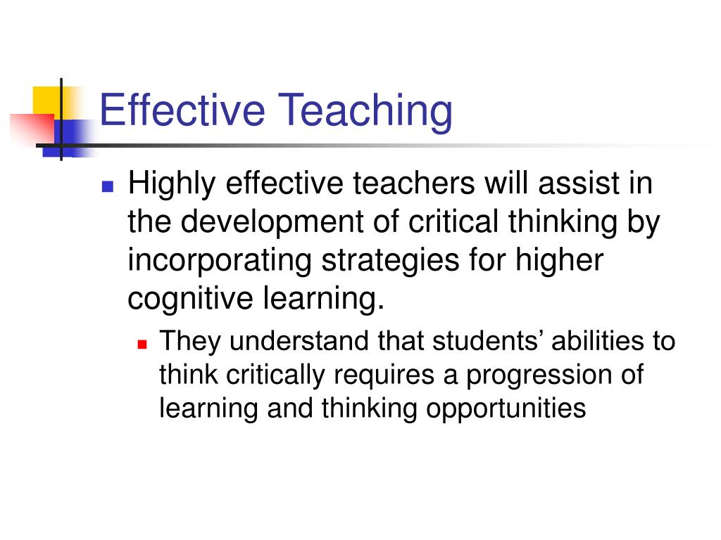 effective teacher training What counts as an effective teaching strategy varies by student age group, per- [1 ] programme for international students assessment 8 teacher training.