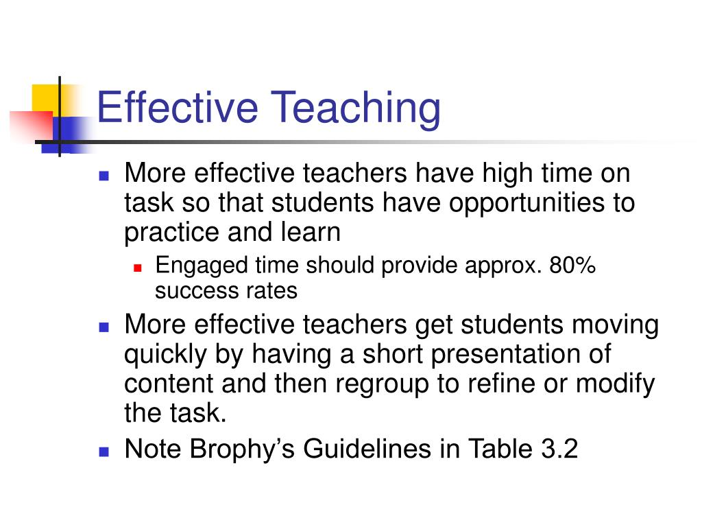 Appropriate and effective teaching and learning approaches to engage and motivate students