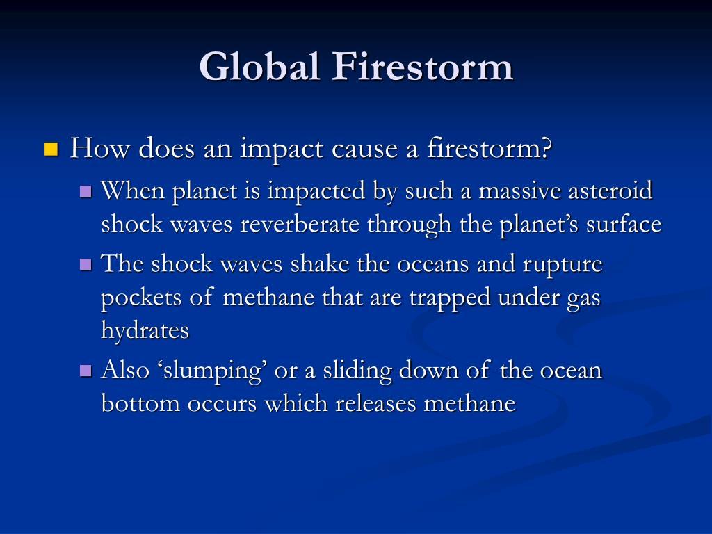 Global Firestorm