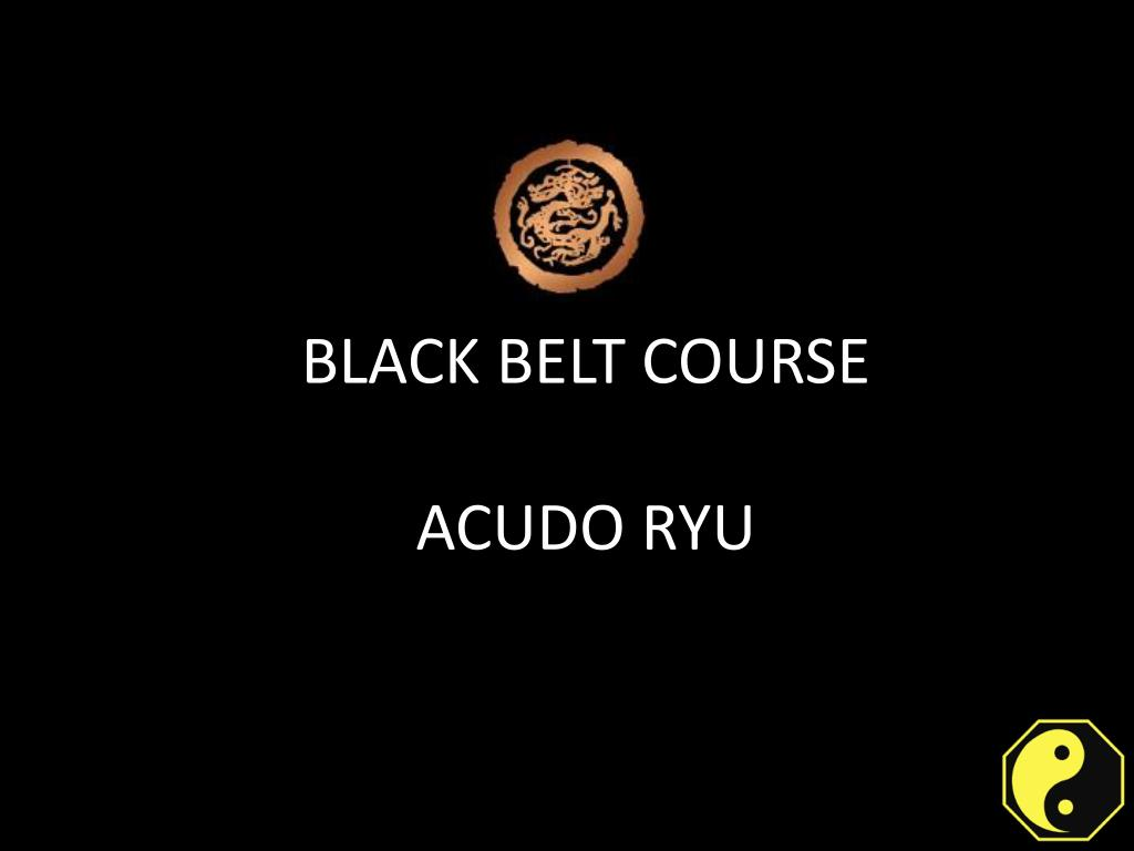 BASIS OF ACUDO RYU