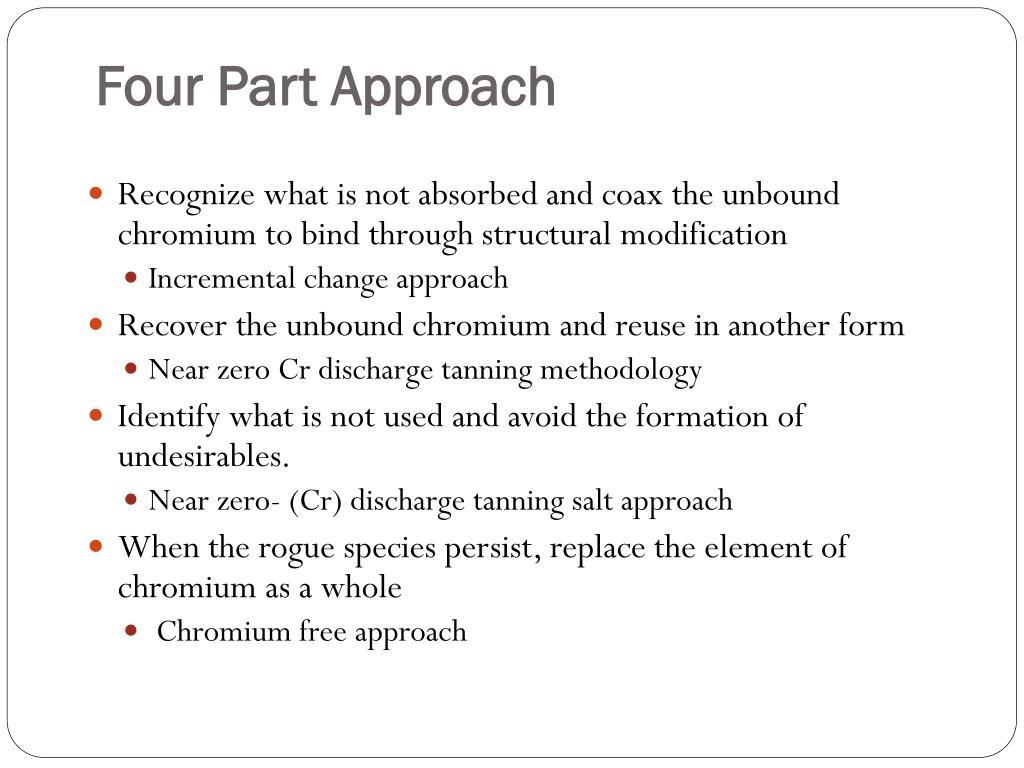 Four Part Approach