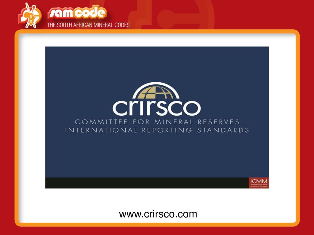 www.crirsco.com