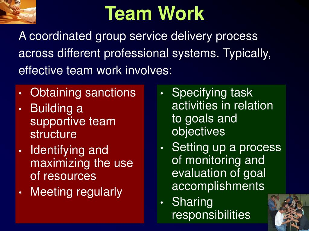 GUIDELINES FOR PREPARING A WORK PLAN