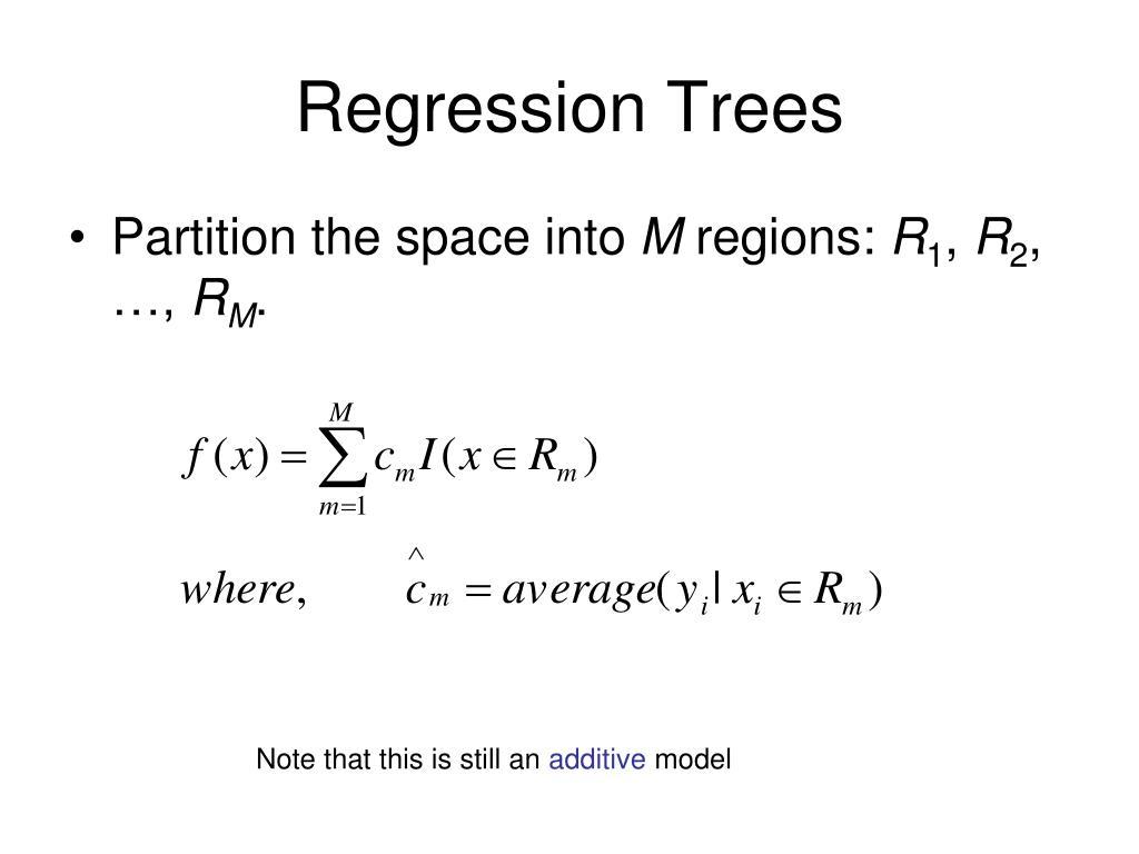 Regression Trees