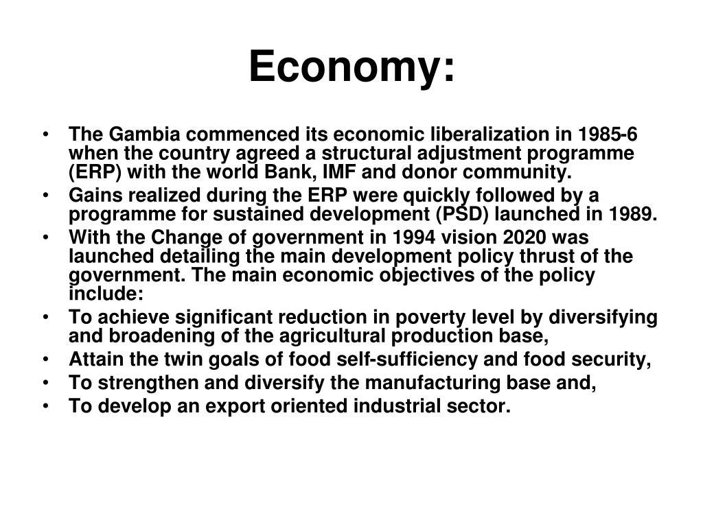Economy: