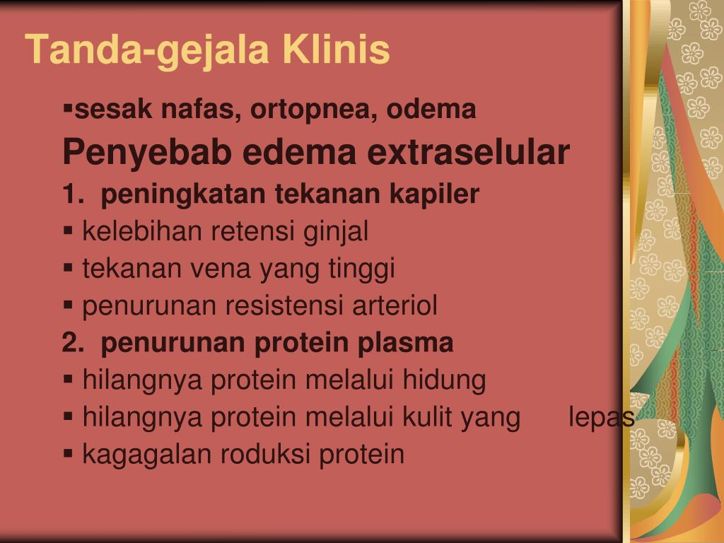 Tanda-gejala Klinis