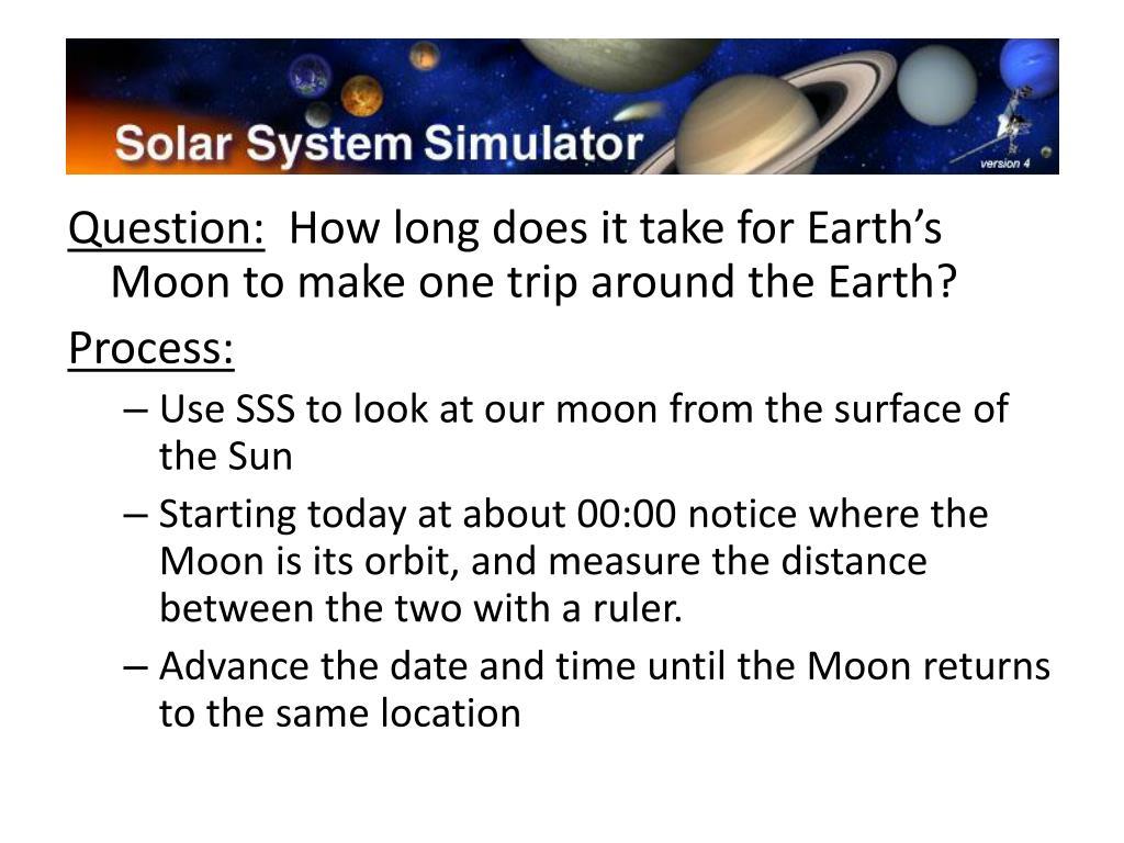Solar System Simulator