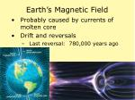 earth s magnetic field