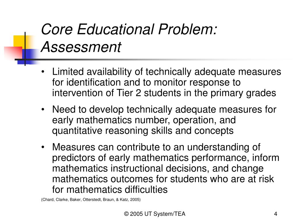 Core Educational Problem: