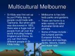 multicultural melbourne