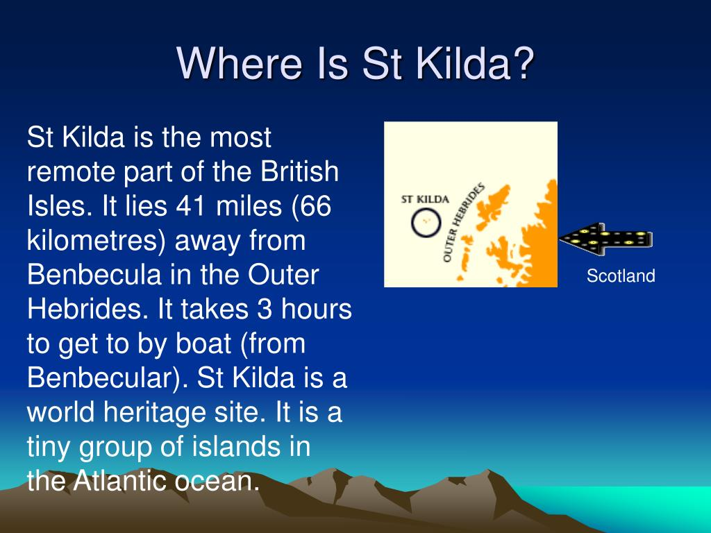 Where Is St Kilda?