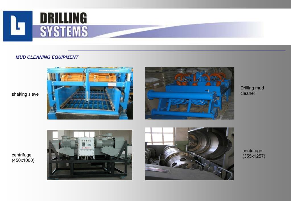MUD CLEANING EQUIPMENT