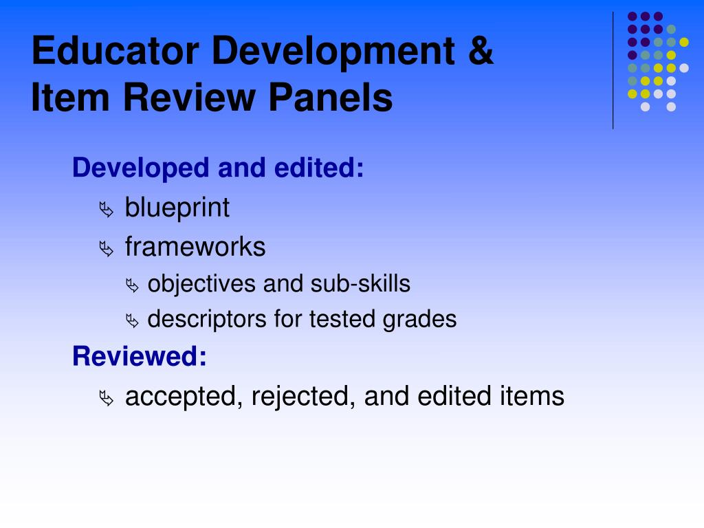 Educator Development &