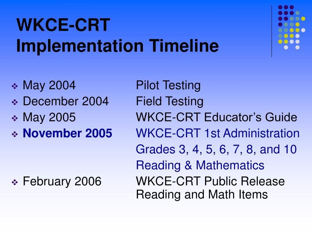 WKCE-CRT