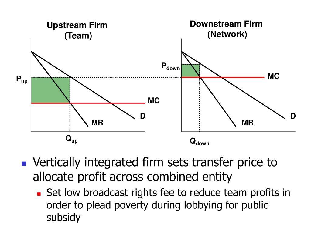 Downstream Firm