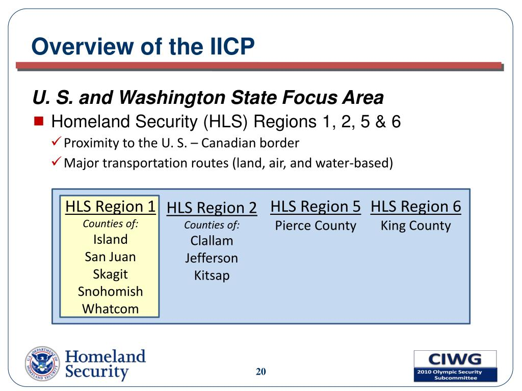 Overview of the IICP