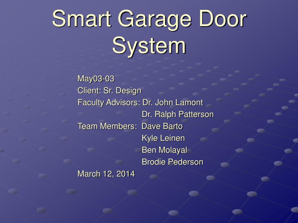 Smart Garage Door System