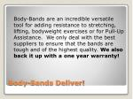 body bands deliver