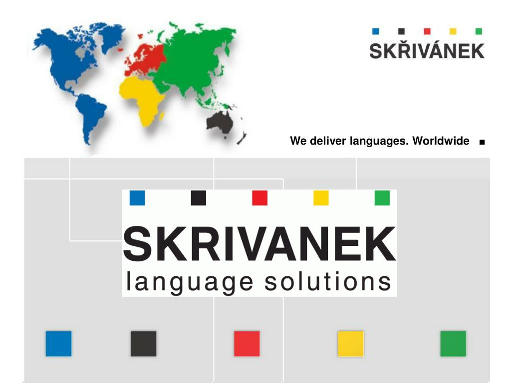 We deliver languages. Worldwide