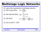 multistage logic networks21