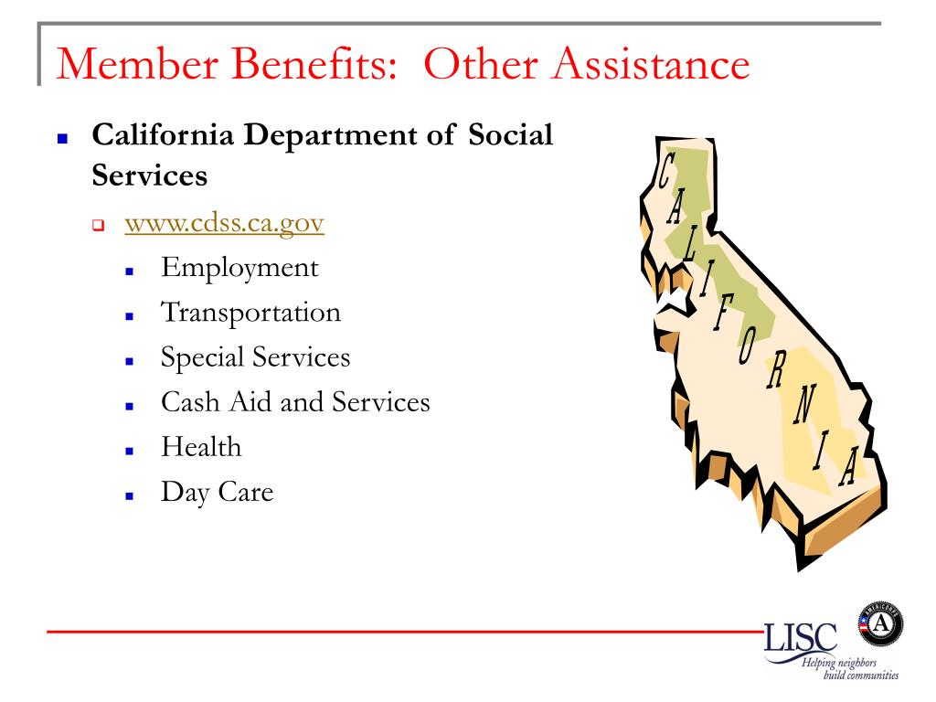 Member Benefits:  Other Assistance