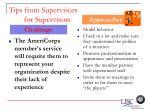 tips from supervisors for supervisors65