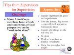tips from supervisors for supervisors66
