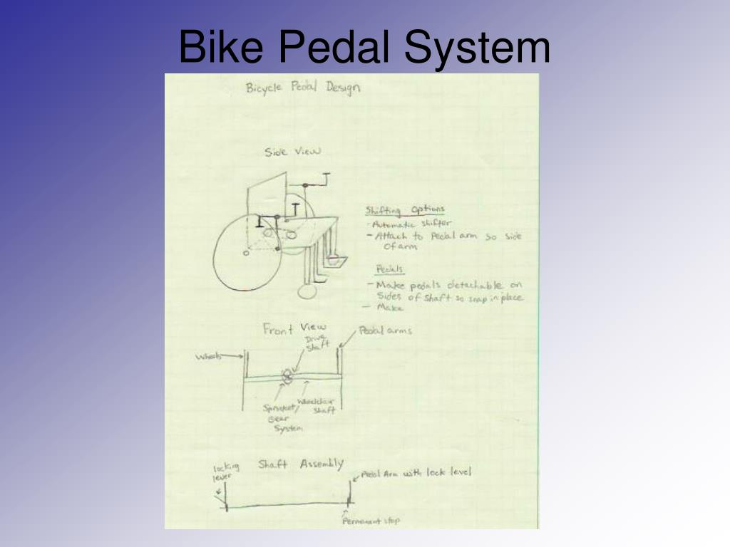 Bike Pedal System