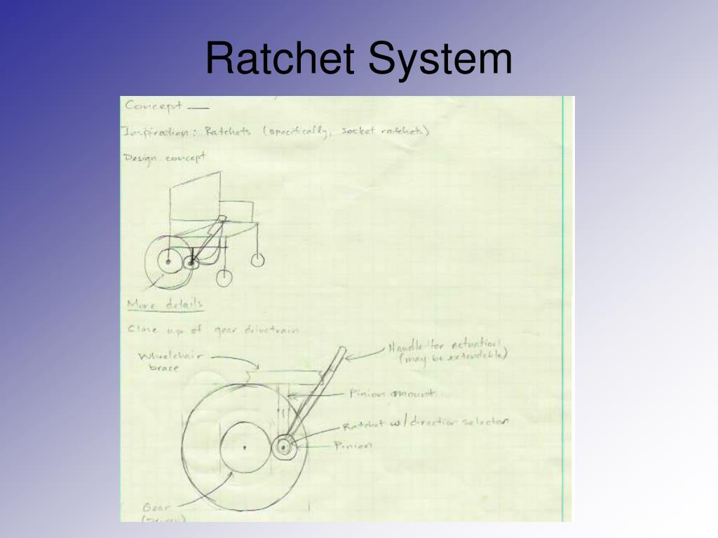 Ratchet System