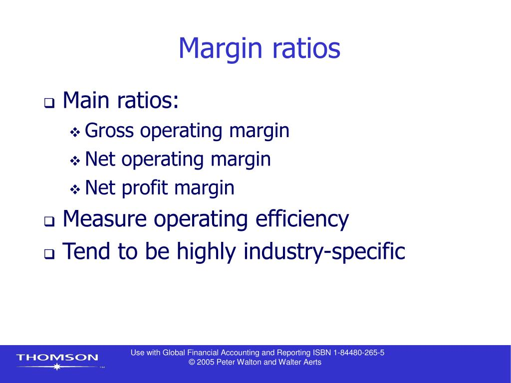 financial ratios and net profit margin Earnings before interest and taxes, or ebit, margin and profit margin are financial accounting tools that help you measure operational efficiency and profitability but each is different from the other.