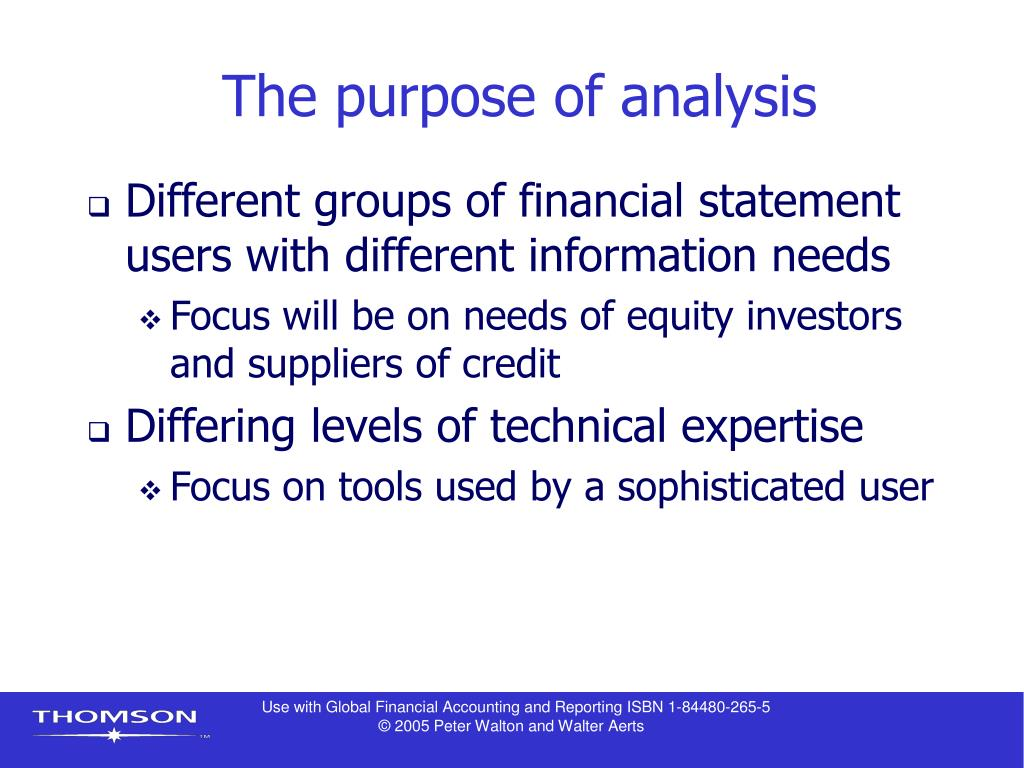 the question of whether financial statements useful to investors The objective of financial statements is to provide information to all the users of these accounts to  investors look at the risk of their investment,  the following steps should be adopted when answering an exam question on analysing performance.