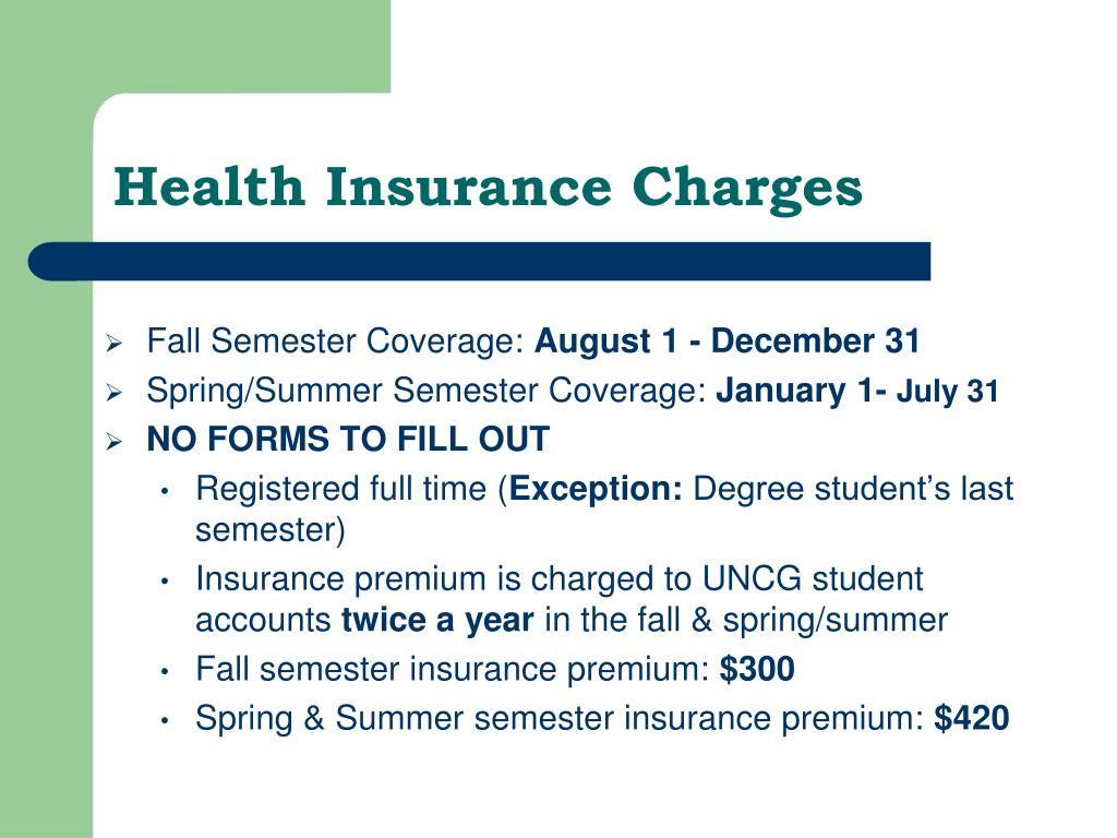 Health Insurance Charges