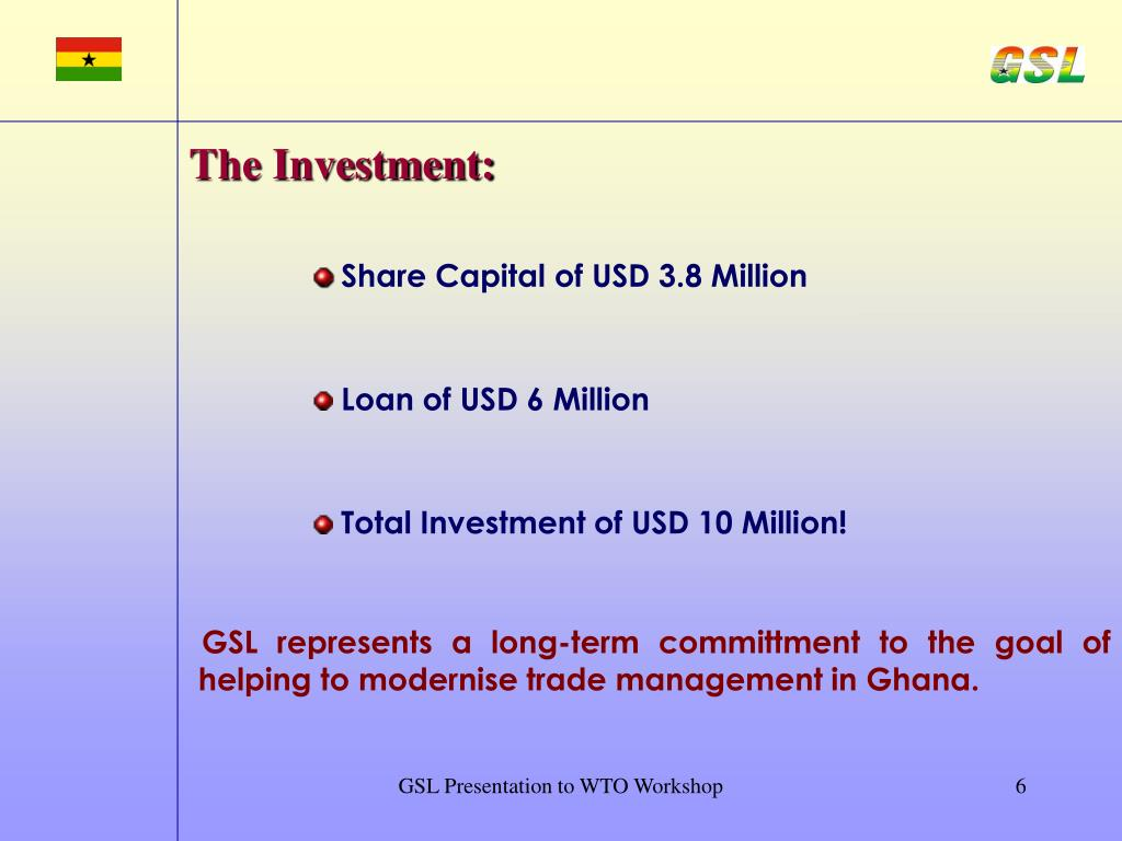 The Investment: