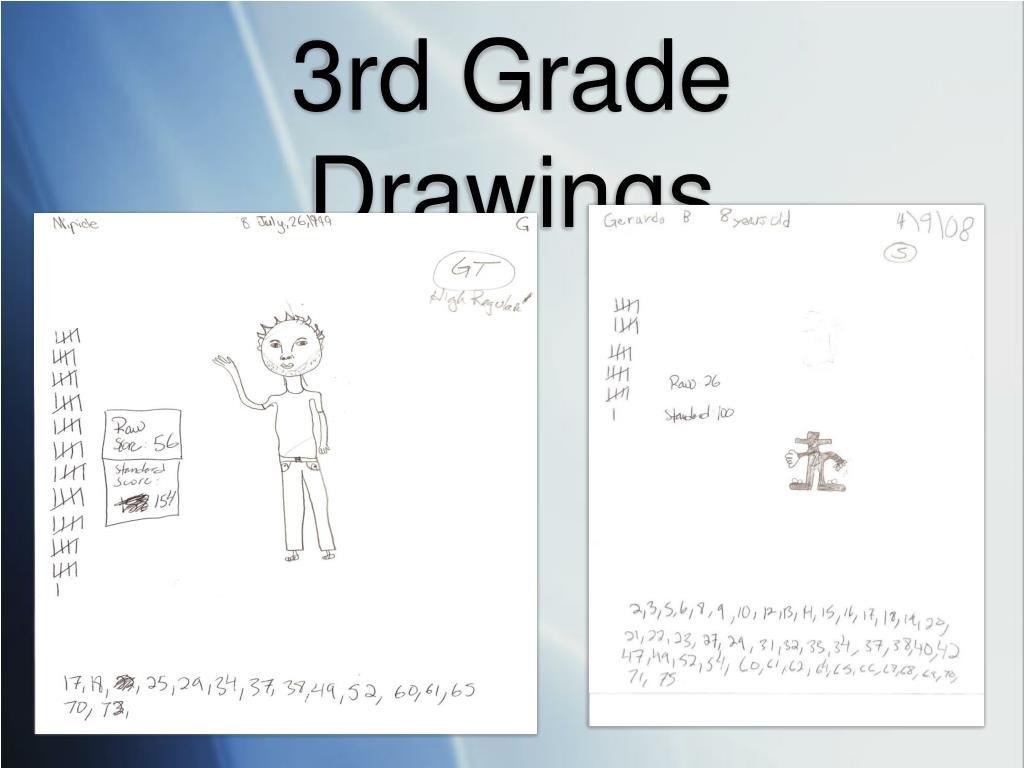 3rd Grade Drawings