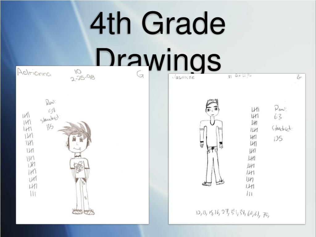4th Grade Drawings