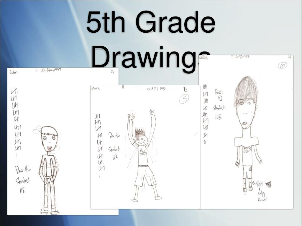 5th Grade Drawings