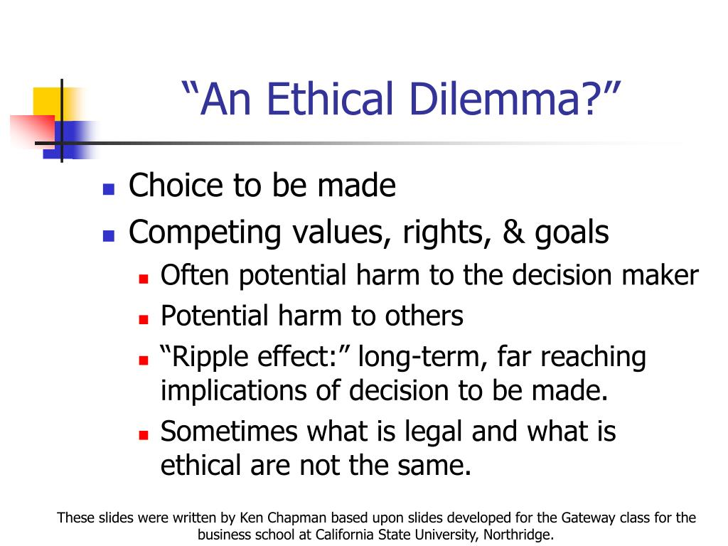 ethical dilemma essays Find ethical dilemma example essays, research papers, term papers, case studies or speeches internal and external dimensions internally, one wants to deci.