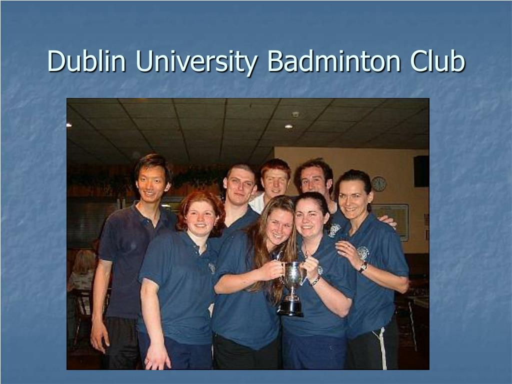 Dublin University Badminton Club