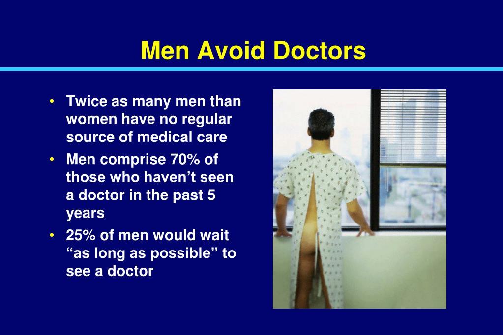 Men Avoid Doctors